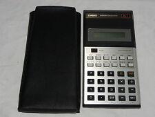 Calculatrice Casio fx-7 FX 7 Calculator rare (225)