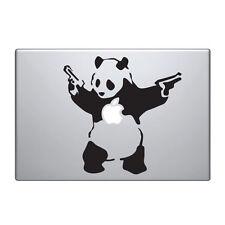 "Macbook Aufkleber Sticker Decal skin Air Pro 11"" 13"" 15"" 17"" Banksy Panda guns"