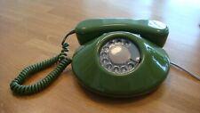 Stunning Vintage BT Dawn 'Pancake' Rotary Telephone in Green
