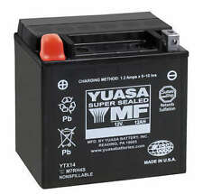 Yuasa Maintenance Free Motorcycle Battery YTX14-BS YUAM3RH4S