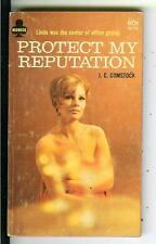 PROTECT MY REPUTATION by Comstock, rare US Midwood sleaze gga pulp vintage pb