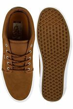 VANS CHUKKA LOW HERRINGBONE TWILL SHOES size sz MENS 7 TAN ULTRACUSH SKATE SK8