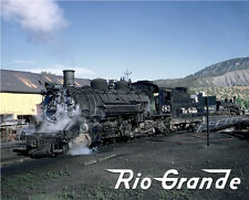 Denver & Rio Grande Western Mountain Steam Sturdy Metal Sign Logo Photo