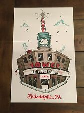 Temple Of The Dog Poster And Official Show Sticker Rare Sold Out Tour Pearl Jam