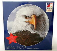 500 Piece Jigsaw Puzzle Regal Eagle Great American Puzzle Factory