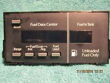 SHIPS SAME DAY! GM 16025256 Fuel Data Center Dash Mod Computer Deville Fleetwood