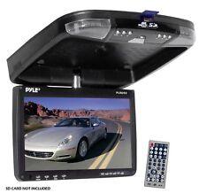 "NEW Pyle PLRD92 9"" Roof Mount Monitor DVD CD USB SD Player FM Modulator & Remote"