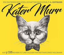 Hörbuch CD Kater Murr von E.T.A. Hoffmann Leser Matthias Ernst Holzmann 5CDs