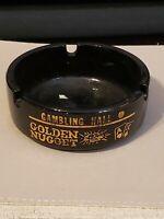 Golden Nugget  Gambling Hall Casino Las Vegas Vintage Ashtray - Style 4