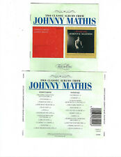 JOHNNY MATHIS - JOHNNY'S MOOD / FAITHFULLY  (2CD 2004)  **24 TRACKS**
