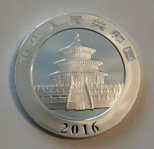China 1oz Silver Panda Coin 2016