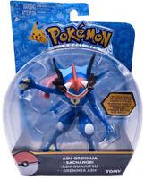 "Tomy Pokemon Pocket Monsters ASH-GRENINJA QUAJUTSU SACHANOBI Action Figure 5.8"""