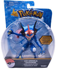 Tomy Pokemon Pocket Monsters ASH-GRENINJA QUAJUTSU SACHANOBI Action Figure 5.8""