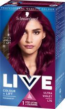 Schwarzkopf Live Permanent Hair Colour L76 Ultra Violet
