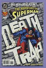 Adventures of Superman #517 1994 Dead Again Karl Kesel Barry Kitson DC k/