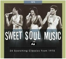 24 Scorching Classics From 1975 - Sweet Soul Music (2014, CD NEUF)