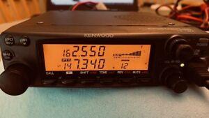 Kenwood TM-732a 144/440 FM Dual Bander Ham Mobile Radio
