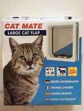 Cat Mate Large Cat Flap New in Box 221W - White - New
