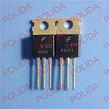 5pairs or 10PCS FAIRCHILD TO-220 KSA940/KSC2073 2SA940/2SC2073 A940/C2073