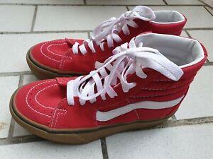 VANS Kinder Sneaker ,gr 34,5  Rot Mädchen Jungen Schuhe