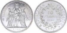 Pièces de monnaie françaises de 10 francs 10 francs argent