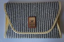 Kim Kardashian Collection Bag Zebra pattern Yellow Clutch Medium Size