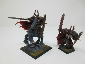 Archaon The Everchosen FT & Mounted Well Painted Chaos OOP Metal Custom G311