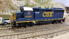 HO Athearn CSX GP0-2... very nice.....unused; ...