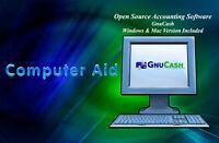 GnuCash 4.0 - Accounting Software Windows & Mac Compatible - CD - Pick Version
