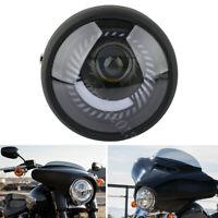 6.5'' 7W Retro Motorrad Hi/Lo Scheinwerfer LED Für Harley Chopper Cafe Racer