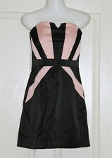 Womens size S (6) black & pink mini dress made by FREE FUSION/Target