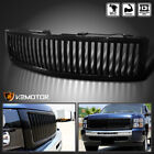 For 2007-2013 Chevy Silverado 1500 Black Vertical Style Front Hood Grille 07-13