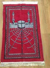 Gebetsteppiche Rot Schwarz Gebet Namaz Islam Prager Mekka Sejjada