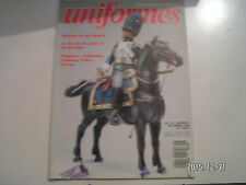 *** Uniformes Magazine n°121 Bonaparte en Pacha Garde de Louis II de Bavière