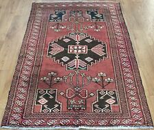 OLD WOOL HAND MADE PERSIAN ORIENTAL FLORAL RUNNER AREA RUG CARPET 198x105CM