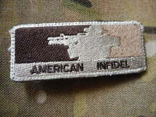 AMERICAN major league infidel VELCR0 PATCH BADGE multicam  COLOUR MATCH new