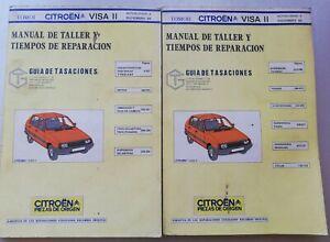 Manual de taller Citroen Visa - 2 Tomos