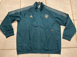 NWT ADIDAS Arsenal FC 2020 Anthem Jacket Men's 2XL FQ6916