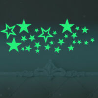 Luminous Stickers Glow In The Dark Stars Wall Decal for Kids Room Decor
