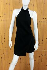 cherrie424: BCBGeneration Black Halter Crossover Dress