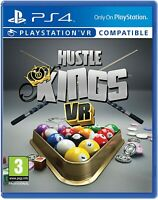 Hustle Kings Pool (VR) For PS4 (New & Sealed)