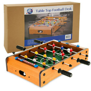 Mini Table Foosball Football Family Game Kids Sport Toy Set Christmas Gift- 20in