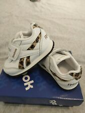 Reebok Infant Royal Classic Jogger 2 Trainers girls toddler UK3.5 *PERFECT COND*