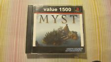 MYST PLAYSTATION 1 PS1 JAPAN JAPANESE VIDEO GAME COMPLETE
