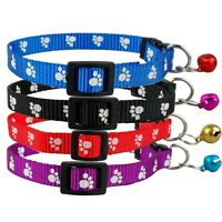 DOG COLLAR BELL GEM TEACUP XS X SMALL PUPPY ADJUSTABLE CHIHUAHUA TOY CAT KITTEN