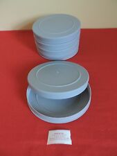 LOT OF (5) *NEW* 16mm  400'  GRAY  PLASTIC EMPTY CANS