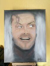 """The Shining - Stephen King - Jack Nicholson Oil Painting """"One of a Kind """""""