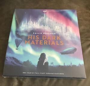 Philip Pullman BBC His Dark Materials 9LP Trilogy Vinyl Set Audiobook New Sealed