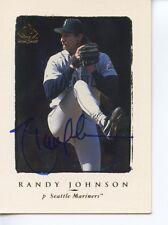 RANDY JOHNSON Autograph-Signed auto UD SP Authentic card -PSA/DNA COA! 2015 HOF!