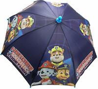 Paw Patrol Little Boys Kids Umbrella School Gift Toy Blue Chase Rubble Rain Kids